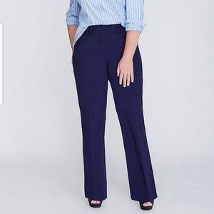 Navy Blue Lane Bryant Trousers Sz.24 Long